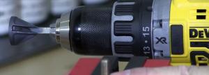 Uniburr in drill